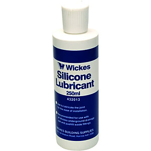 Wickes Clear Silicone Lubricant 250ml