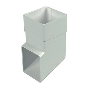 Wickes White Squareline Downpipe Shoe