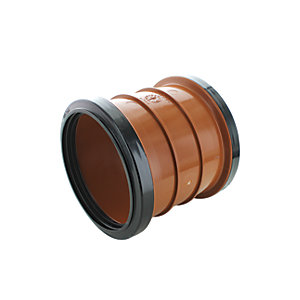 Wickes 110mm Terracora Drain Slip Coupling