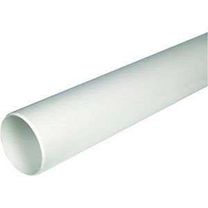 Wickes 110mm White WC Soil Pipe