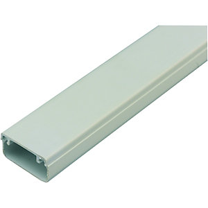 Wickes Mini Trunking White 16x25mmx3m