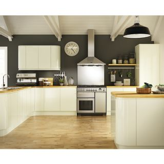 Holborn Gloss Cream Kitchen Range