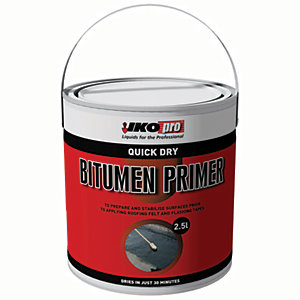 Wickes Brush Applied Quick Drying Roof Primer 2.5L
