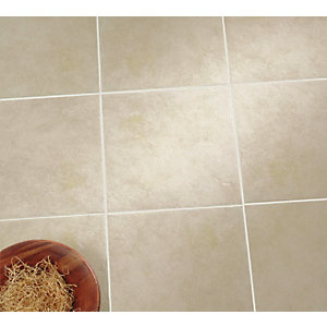 Wickes Havana Beige Matt Ceramic Floor Tile 330 x 330mm