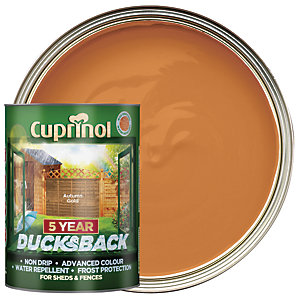 Cuprinol 5 Year Ducksback Autumn Gold 5L