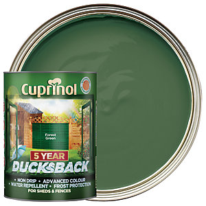Cuprinol 5 Year Ducksback Forest Green 5L
