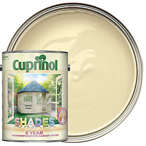 Cuprinol Garden Shades Country Cream 5L