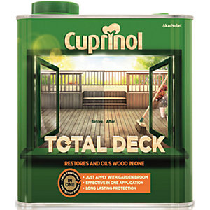 Cuprinol 2.5L Total Deck Preserver