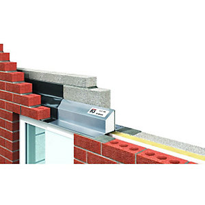 IG LTD 95-100mm Steel Cavity Wall Lintel 1200mm