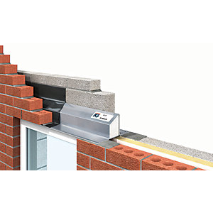 IG LTD 75-90mm Steel Cavity Wall Lintel 1500mm