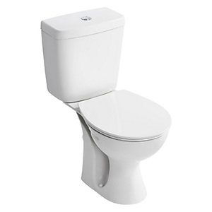 Ideal Standard E787101 Concept Close Coupled WC Pan with Horizontal Outlet White