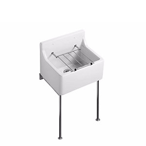 Armitage Birch 510 Cleaner Sink+pad+grating S592001