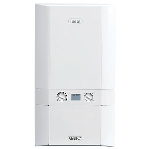 Ideal Logic Plus 30kW System Boiler & Standard Horizontal Flue Pack Erp