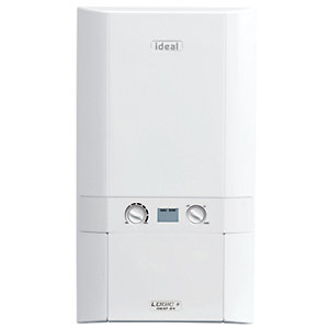 Ideal Logic Plus 12kW Heat Only Boiler & Standard Horizontal Flue Pack Erp