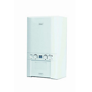 Ideal Logic 35kW Combi Boiler & Standard Horizontal Flue Pack Erp