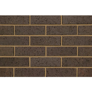 Ibstock Brick Himley Dark Brown Rustic