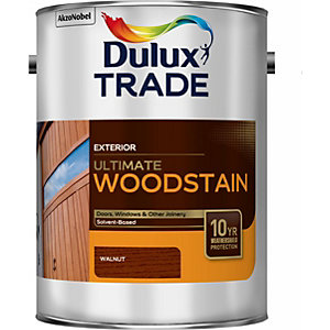 Dulux Trade Weathershield Ultimate Woodstain Walnut 5L