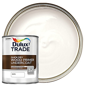 Dulux Trade Quick Dry Wood Primer & Undercoat 1L