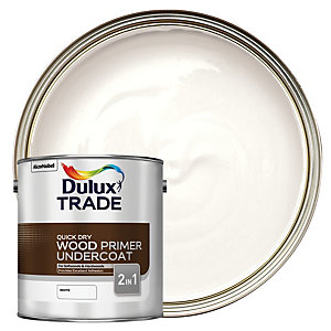 Dulux Trade Quick Dry Wood Primer & Undercoat 2.5L