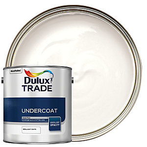 Dulux Trade Undercoat Paint Brilliant White 2.5L