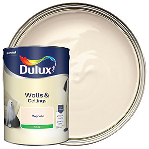 Dulux Silk Emulsion Paint Magnolia 5L