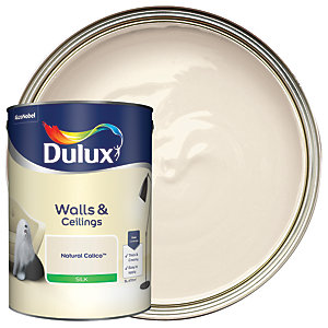 Dulux Silk Emulsion Paint Natural Calico 5L