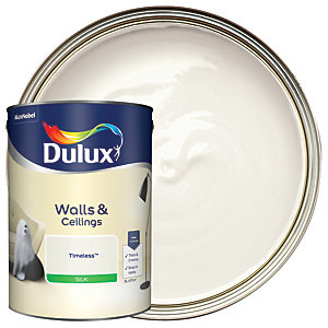 Dulux Silk Emulsion Paint Timeless 5L