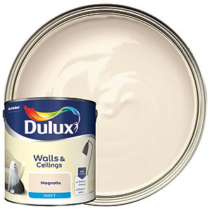 Dulux Matt Emulsion Paint Magnolia 2.5L