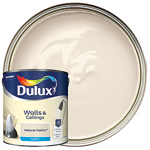 Dulux Matt Emulsion Paint Natural Calico 2.5L