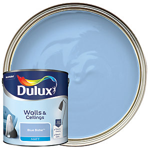Dulux Matt Emulsion Paint Blue Babe 2.5L