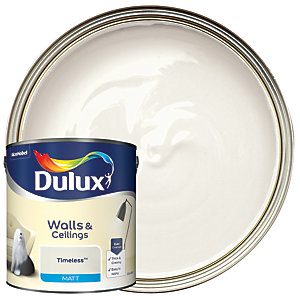 Dulux Matt Emulsion Paint Timeless 2.5L