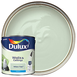 Dulux Matt Emulsion Paint Willow Tree 2.5L