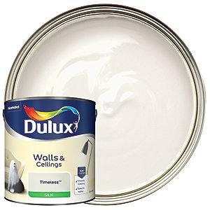 Dulux Silk Emulsion Paint Timeless 2.5L