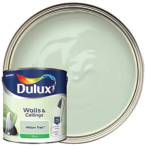 Dulux Silk Emulsion Paint Willow Tree 2.5L