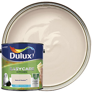 Dulux Kitchen+ Matt Emulsion Paint Natural Hessian 2.5L