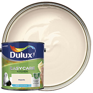 Dulux Kitchen+ Matt Emulsion Paint Magnolia 2.5L