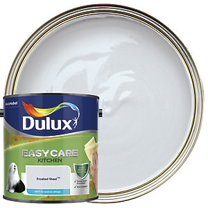 Dulux Kitchen+ Matt Emulsion Paint Frosted Steel 2.5L