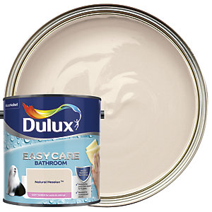 Dulux Bathroom+ Soft Sheen Emulsion Paint Natural Hessian 2.5L