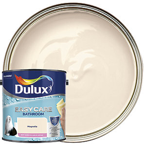 Dulux Bathroom+ Soft Sheen Emulsion Paint Magnolia 2.5L