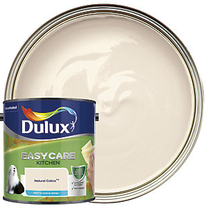 Dulux Kitchen+ Matt Emulsion Paint Natural Calico 2.5L