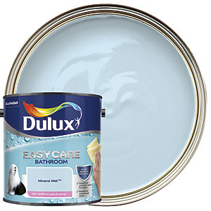 Dulux Bathroom+ Soft Sheen Emulsion Paint Mineral Mist 2.5L