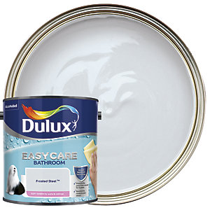 Dulux Bathroom+ Soft Sheen Emulsion Paint Frosted Steel 2.5L
