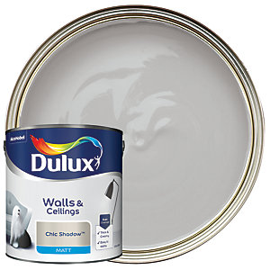 Dulux Matt Emulsion Paint Chic Shadow 2.5L