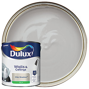 Dulux Silk Emulsion Paint Chic Shadow 2.5L