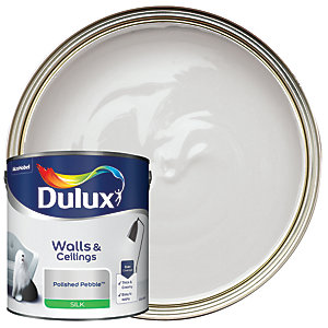 Dulux Silk Emulsion Paint Polished Pebble 2.5L