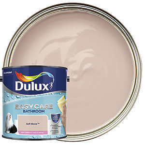 Dulux Bathroom+ Soft Sheen Emulsion Paint Soft Stone 2.5L