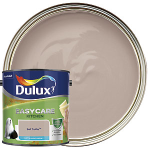 Dulux Kitchen+ Matt Emulsion Paint Soft Truffle 2.5L