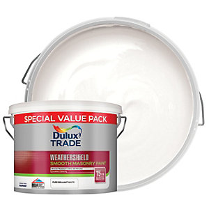Dulux Trade Weathershield Smooth Brilliant White 7.5L
