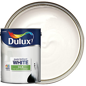 Dulux Vinyl Silk Pure Brilliant White 5L