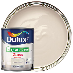 Dulux Quick Dry Gloss Natural Hessian 750ml